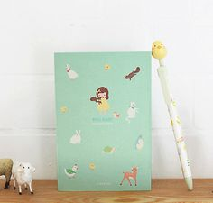 The Magic Notebook website - sells amazing really original journals, diaries, notebooks, stickers and washi etc