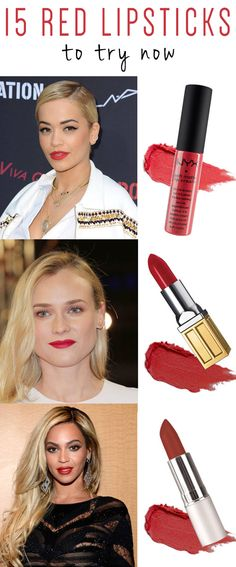 15 red lipsticks to try now.