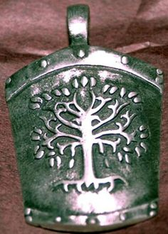 Lord of the Rings The Gondor shield charm by Collectorstuff