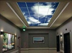 awesome for windowless rooms or to replace the florescent feel to rooms