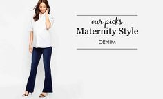 The BEST Maternity Jeans - Project Nursery