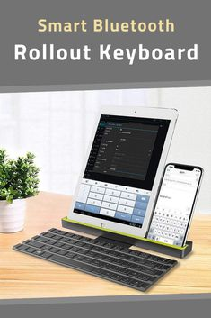 Rock Rollable Bluetooth Keyboard For iPhone iPad Samsung Tablet PC iOS Android Windows Devices Mens Gadgets, Unique Gadgets, Bluetooth Keyboard, Wireless Speakers, Android Windows, Ipad Mini, Smartphone, Samsung, Iphone