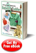 14 Free #Crochet Patterns for #Babies & Toddlers