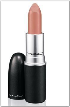 MAC lipstick, Japanese Maple. Perfect nude lip and I agree! Love this color.