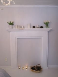 Inspiring Diy Fake Fireplace Design IDeas 3