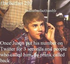 "I would've cried so hard if he had called me back. haha "")"