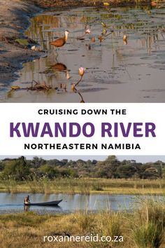 River cruise down the Kwando River, Namibia #Namibia #Africa #travel #Kwando