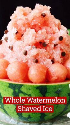 Watermelon Recipes, Fruit Recipes, Summer Recipes, Sweet Recipes, Dessert Recipes, Frozen Desserts, Fun Desserts, Delicious Desserts, Yummy Food