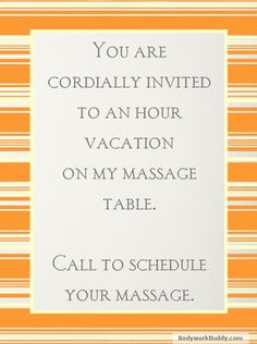 Bodywork Buddy Blog (B3): 11 Ways Getting a Massage is Better Than Taking a Vacation
