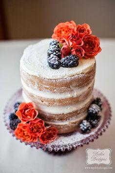 Nueva tendencia en tartas de boda: Naked cakes