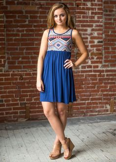 Your Tribe Tank Dress