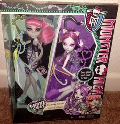 Monster High  Ghoul Chat Exclusive Two Pack Catrine And Rochelle NEW In Hand