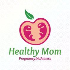 Healthy Mom #logo #logo design