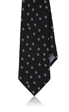Boglioli Medallion Silk Necktie - Neck Ties - 504986055