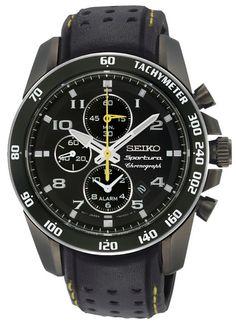 Seiko Mens Sportura Alarm Chronograph Watch $500