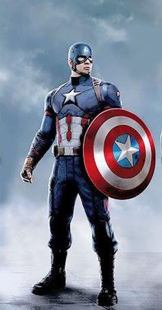 Captain America Civil War concept art by Andy Park