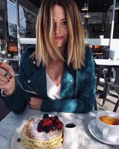 « Keep calm and eat Pancakes | Jacket available on my blog #shopmystyle…