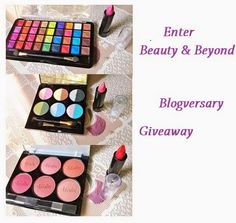 Blogversary Giveaway (Open now)