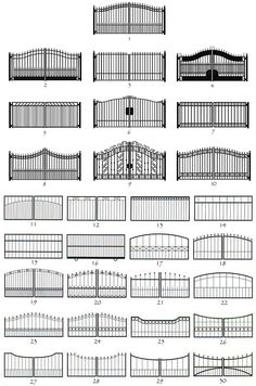 Custom fabricated Iron Gates & wrought iron garden gates in Dallas, Plano, Highland Park. Home Gate Design, House Main Gates Design, Front Gate Design, Steel Gate Design, Grill Gate Design, Wrought Iron Driveway Gates, Iron Garden Gates, Iron Fences, Metal Gates