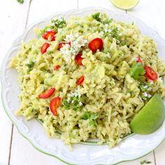 Green Rice Recipe (Arroz Verde)