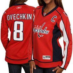 Reebok Alexander Ovechkin Washington Capitals Ladies Premier Jersey - Red  Washington Capitals Jersey 63a609d4b