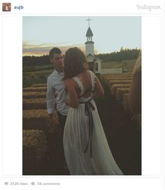 The couple married on the Roloff family farm in Hillsboro, Oregon in a rustic ceremony on Saturday, September 20th. Read more and join in at: http://allaboutthetea.com/2014/09/21/little-people-big-world-jeremy-roloff-weds-audrey-mirabella/