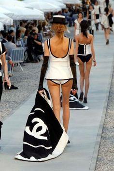 Chanel Beachtowel