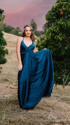 Blue Dresses, Formal Dresses, One Shoulder, Bright, Fashion, Dresses For Formal, Moda, Formal Gowns, Fashion Styles