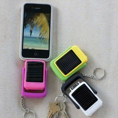 A Solar-Powered Battery Pack On a Keychain, $5.99 | 37 Things That Actually Belong On Your Wishlist