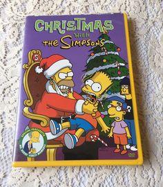 Christmas with the Simpsons Animated Movie Cartoon Family Comedy Xmas DVD 2003