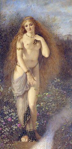 "Edward Henry Corbould (1815-1905), ""Astarte"" | Flickr"