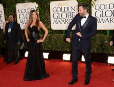Ben Affleck goofed off on the red carpet...adorable!