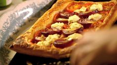Watch Making Tomato and Goat's Cheese Tart