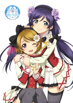 Love Live School idol project Tojo Minami Nico Rin Circus Bunny White Full Set