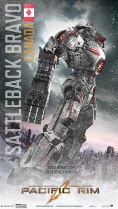 Cinema Summary, Pacific War Pacific Rim 1 - An Alien Invasion Movie, Action & Fantasy Sci-Fi Movi Cult Movies, Sci Fi Movies, Pacific Rim Jaeger, Pacific Rim Kaiju, Rinko Kikuchi, Big Robots, Tron Legacy, Mecha Anime, Idris Elba