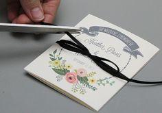 DIY Tutorial: FREE Printable Ceremony Booklet - Boho Weddings™