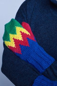 The classic Finnish pattern, inspired by the northern lights of Lapland is a gift that keeps on giving. These mittens are knitted in the bright colours of our new yarn Novita 7 Veljestä Lappi.  #knittingpatterns #pattern #crochet #crocheting #crochetideas #yarn #wool #cotton #linen #nordic  #handmade #knitfashion #spring #pastel
