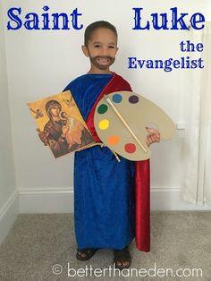 St. Luke the Evangelist, patron of artists: All Saints' Day Costumes 2017 ::Better Than Eden::