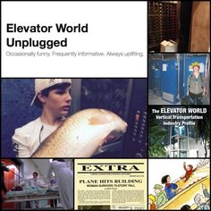 Check out our blog, Elevator World Unplugged! #EWUnplugged #elevator #escalator #liftcartoons #movingwalk