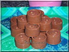 Petits chocolats sans façon