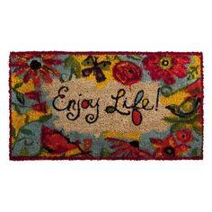 Enjoy Life Mat Evergreen Flag & Garden http://www.amazon.com/dp/B005HAUAA8/ref=cm_sw_r_pi_dp_sntiub0PN2BVN