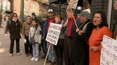 """A man known as """"Homeless Dave"""" is hunger striking to protest development plans that he says will leave Vancouver's most disadvantaged out in the cold.  He's trying to draw attention to rezoning plans that could result in more high-end stores and homes in the Downtown Eastside where hundreds of people are living on the streets."""