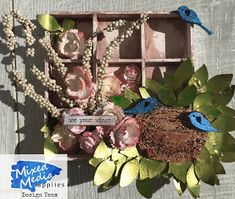 Wonderful World of Crafting : Birds for Mixed Media Supplies