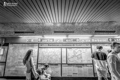 French exit to the left; English to the right ! #metro #streetphotography #Rome #Italy #gabyawadphotography