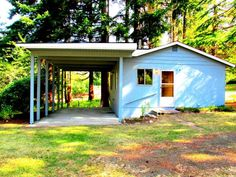 Beachside getaways often charge a pretty penny, but this $63,000 wee Washington cabin is walking distance from the beach, offering fishing, boating, picnics, and all sorts of rest and relaxation. If you're looking for an opportunity to relax, here you go. Location: Lakebay, WA Square Feet: 480 Price: $63,000   - ELLEDecor.com