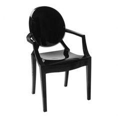 Cadeira Sofia Preta