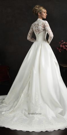 amelia-sposa-2015-wedding-dresses-elissa-1long lace sleeve wedding dress