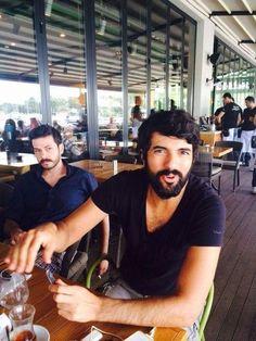 Engin Akyürek with Ahmet Tansu Tasanler.