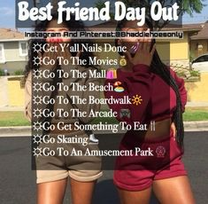Start like that besties bff me and tayla and more squads Things To Do At A Sleepover, Fun Sleepover Ideas, Sleepover Activities, Things To Do When Bored, Sleepover Party, Summer Activities, Best Friend Activities, Best Friend Dates, Best Friend Goals