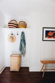 a cute and simple little entryway